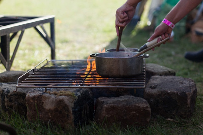 THE GOOD LIFE EXPERIENCE – Festival Update – The Campfire Cooking Sessions