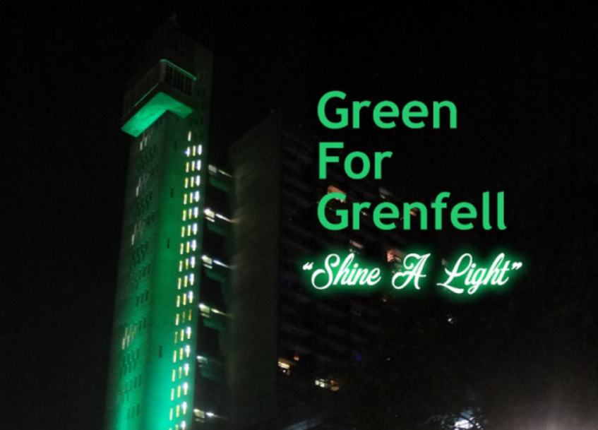 Green For Grenfell – Shine a Light