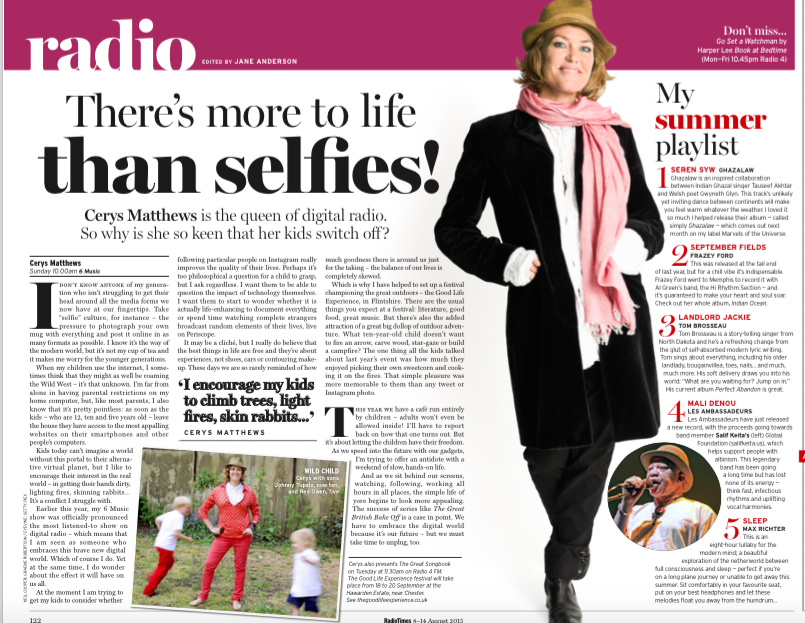 Is there more to life than selfies?