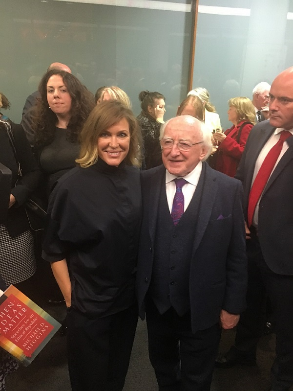 Meeting the President of Ireland
